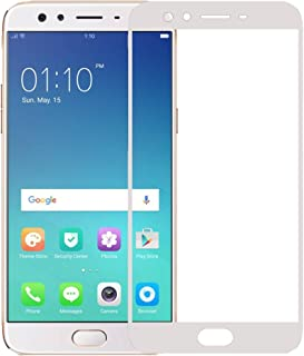 Roxel Premium Crystal Clear HD+ Coloured Tempered Glass For Oppo F3 Plus White