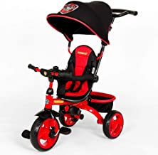 KidsEmbrace Paw Patrol Marshall 4-in-1 Push and Ride Stroller Tricycle