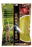 菱和園 ひしわ 玄米茶 宇治有機抹茶入り 150g