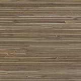 Patton Wallcoverings new488-436 Grasscloth Wallpaper, Brown Beige Tan Camel Cream