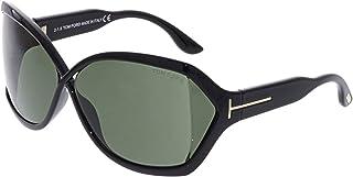 Tom Ford TF427 01N Juliane - Shiny Black/Green by Tom Ford for Women - 62-11-115 mm Sunglasses