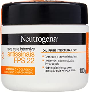 NEUTROGENA Face Care Intensive Antissinais FPS 22 100g, Neutrogena