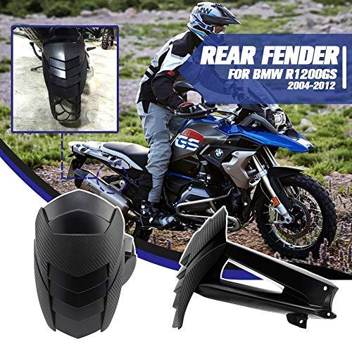 Lorababer Motocicletta R 1200 GS Nero Posteriore Parafango Copriruota Paraspruzzi per 2004-2012 BMW R1200GS 2005 2006 2007 2008 2009 2010 2011