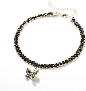 abfbcead24ba Amazon.es: La mariposa negra - Collares / Mujer: Joyería