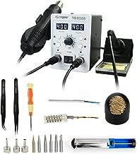 YAOGONG Automatic 2 In 1 Hot Air SMD Digital Rework Soldering Iron Station Mobile Phone Repair Tools Kit …