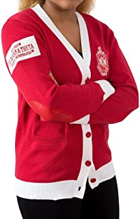 Delta Sigma Theta Sorority Elite Classy Cardigan Sweater large