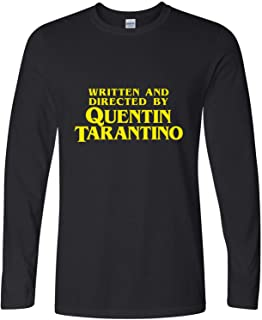 written and directed by quentin tarantino shirt long sleeve