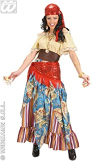 XL Fortune Teller Costume Extra Large For Medieval Middle Ages Fancy Dress