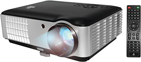 Full HD 1080p Video & Cinema Home Theater Projector – Built-in Stereo Speaker,..