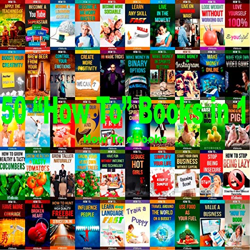 "50 ""How to"" Books in 1: How to Books  By  cover art"