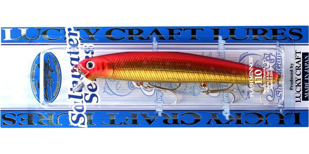 637 TRG LUCKY CRAFT Flashminnow 110