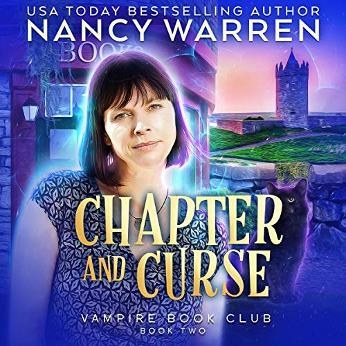 Chapter and Curse: A Paranormal Women's Fiction Cozy Mystery  By  cover art