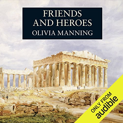 Friends and Heroes audiobook cover art