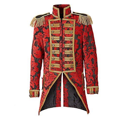 Widmann 59362 Herren Frack Jacquard Parade kostüm, M, M