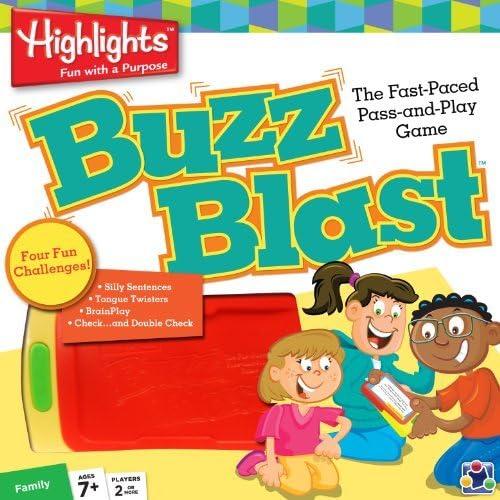 despacho de tienda MasterPieces Highlights Buzz Buzz Buzz Blast Card Game by MasterPieces  Más asequible