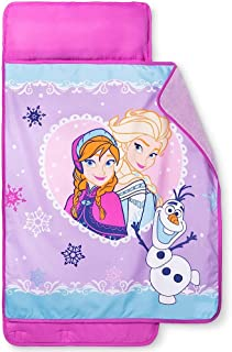Frozen Sisters Girls Nap Mat with Blanket