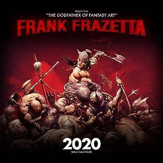 Frank Frazetta 2020 Fantasy Art Wall Calendar- 12 Month- 24x12 in