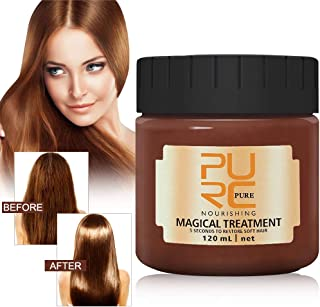 Hair Treatment Mask 120ml, 2019 PURC Magical Hair Mask, Deep Conditioner for Dry or Damaged Hair, 5 Seconds Repairs Damage Hair Root and Keratin