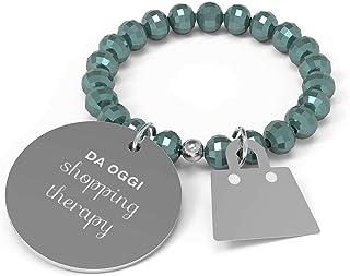 10 Buoni Propositi Anello Donna Shopping Therapy Collezione Crystal Silver