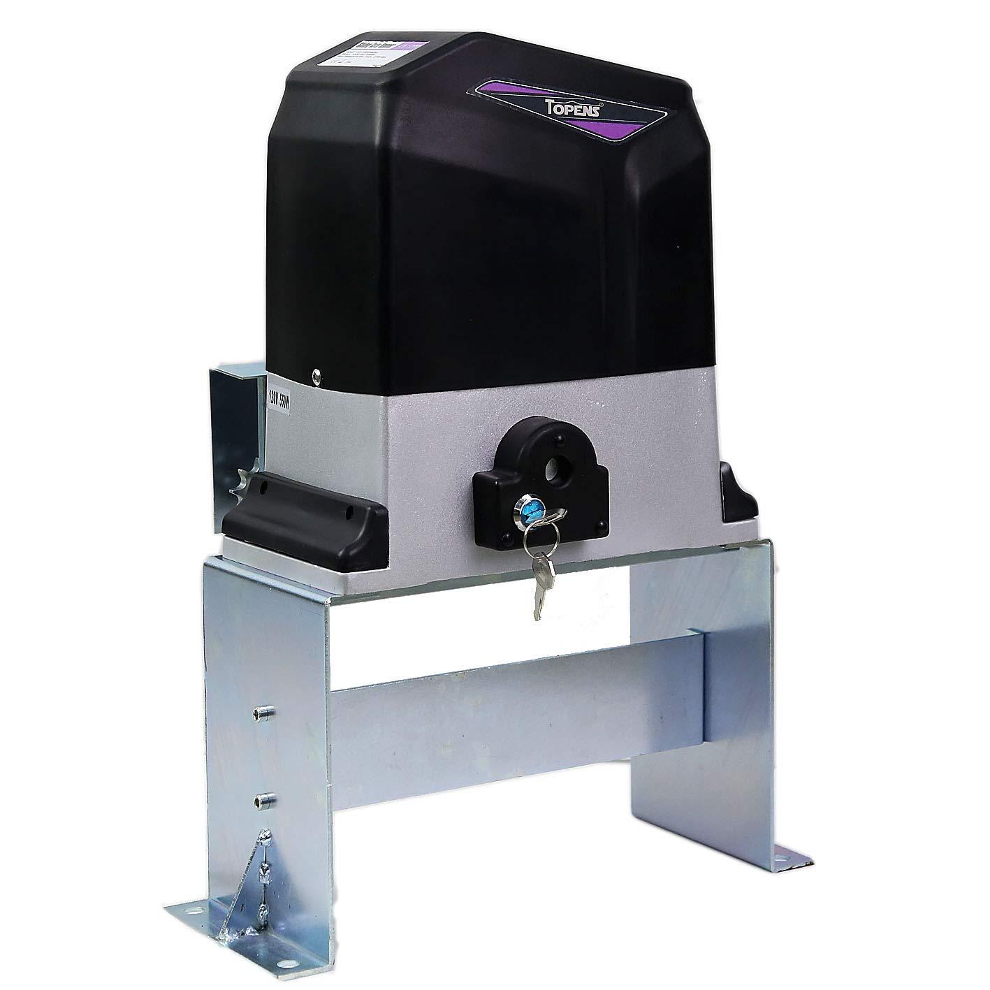 TOPENS CK1200 abridor de puerta corredera de cadena automática con ...