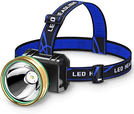 LED-Scheinwerfer Blendung wiederaufladbare wasserdichte Induktion weiträumige, weiträumige, weiträumige, am Kopf befestigte Taschenlampe B07L4NRWLD     | Kaufen  52d6e9