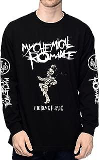 EmoBug My Chemical Romance MCR The Black Parade Logo Long Sleeve Men's T-Shirt