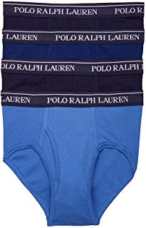 Polo Ralph Lauren Men's Classic Fit w/Wicking 4-Pack Briefs