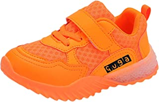 MIS1950s Boys & Girls & Kids & Toddlers LED Light Up Sports Shoes Lightweight Runing Sneakers
