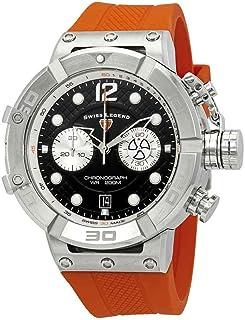 Swiss Legend Triton Chronograph Black Dial Watch SL-10719SM-01-OAS