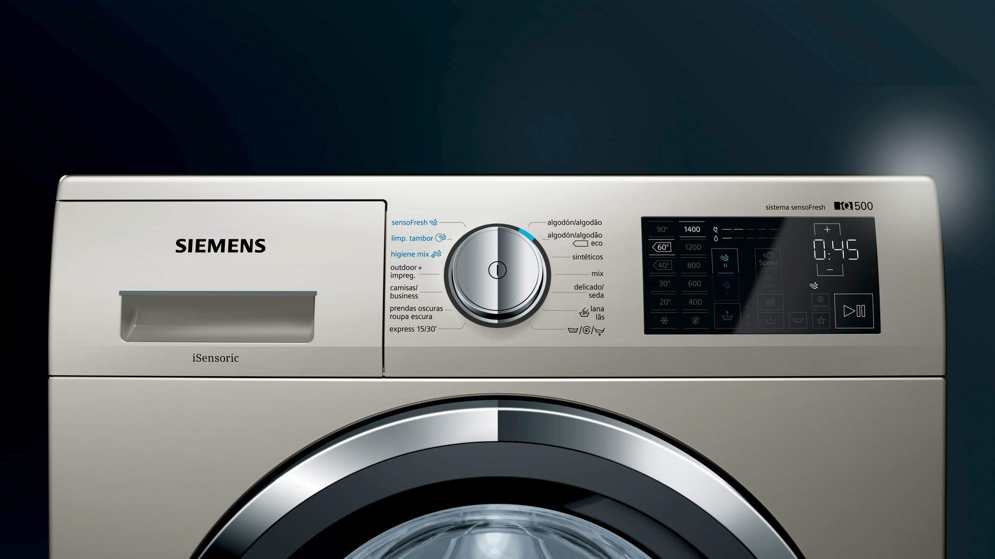 Siemens iQ500 WM14T79XES - Lavadora (Independiente, Carga frontal ...