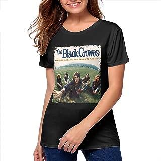 Women T Shirt The Black Crowes SportySexy Short Sleeve Tshirts