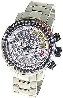 Black Diamond Watch 4.5 Ct Techno Com by KC