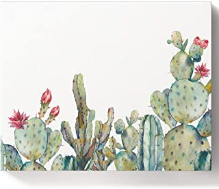 Infinidesign Cactus Paint by Numbers for Adults, Paint by Number Kits on Canvas with Brushes, DIY Number Painting for Begi...