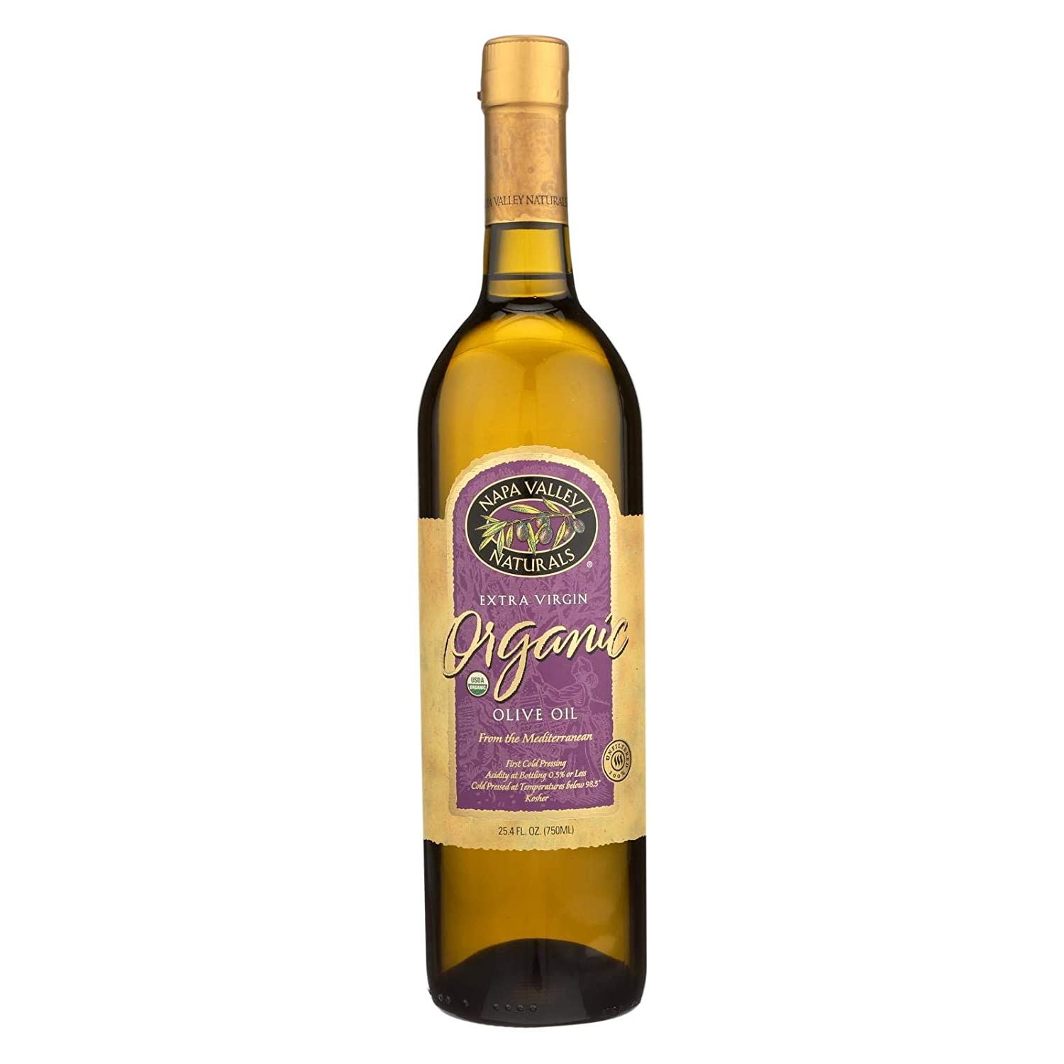 Napa Valley Naturals Organic Extra Fixed price for sale Year-end annual account Oil Olive 12x25.4oz Virgin
