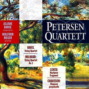 Ravel, Milhaud, Lekeu, Chausson