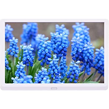Digital Photo Frame 13 Inch Digital Photo Frame 1280800 Pixels High Resolution LED Screen 1080P HD Video Playback Auto On//Off Timer Remote Control Included Perfect For Both The Home And Office Displa