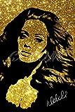 Adele Glitter Effekt Art Pre unterzeichnet Foto Poster