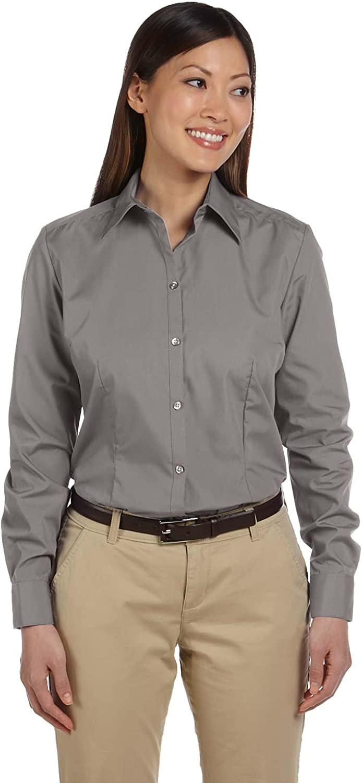 Van Heusen Ladies' Long-Sleeve Silky Poplin