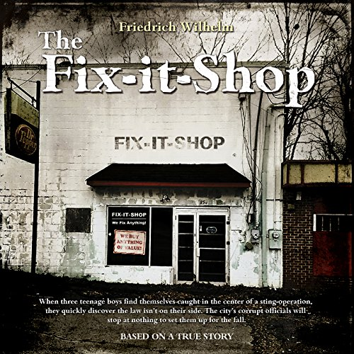 The Fix-it-Shop audiobook cover art