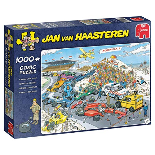 Jumbo- Jan Van Haasteren - Puzzle de 1000 Piezas, Multicolor (J19093)