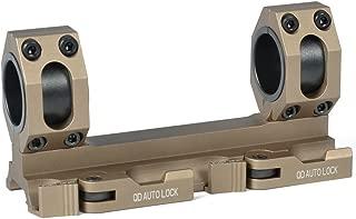 Green Blob Outdoors GBO - QD -DE Scope Rings Mount Top Rail 30mm - 1 inch Ring Tactical Recon for Burris, Nikon, Leupold, Vortex, UTG