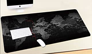 CMii Gaming Mouse Pad with Non-Slip Rubber Base World Map XXL Large Mouse Pad Computer Gaming Mouse Mat Desk Pad - 90cm x ...