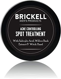 Brickell Men's Acne Controlling Spot Treatment for Men, Natural & Organic Acne Spot Treatment to Reduce Acne, Calms Skin C...
