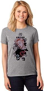 Camiseta Feminina T-Shirt Kpop BTS Jimin You Never Walk Alone ES_163