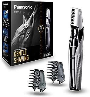 Panasonic Body-trimmer ER-GK60 met 3 opzetstukken, elektrisch scheerapparaat voor heren, huidvriendelijk nat en droog sche...
