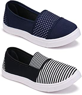 Shoefly Women Multicolour Latest Collection Sneakers Shoes- Pack of 2 (Combo-(2)-11022-11031)