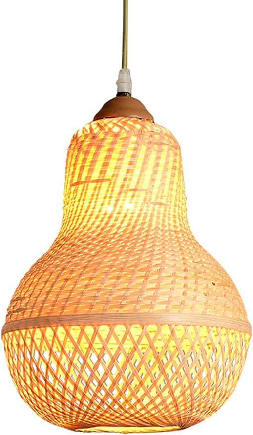 LIWENGZ Max 40% Max 67% OFF OFF Bamboo Chinese Lantern Hanging Pers Creative Gourd Light