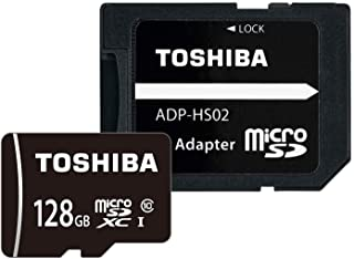 東芝 microSDXCカード 128GB Class10 UHS-I対応 (最大転送速度48MB/s) 国内正規品 Amazon.co.jpモデル THN-MW128G4R8