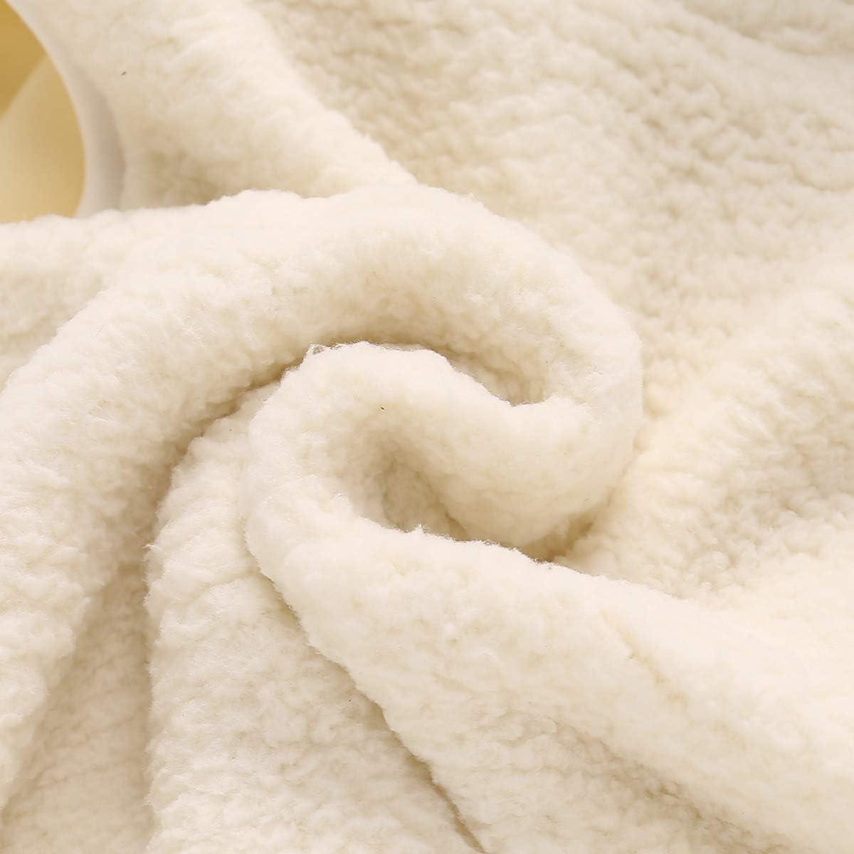 Tabpole Chaleco c/álido de forro polar para ni/ños oto/ño invierno c/álido con capucha chaleco chaleco chaleco