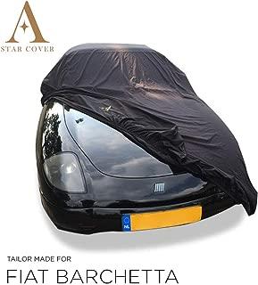 rmg-distribuzione Telo copriauto per Fiat 500X in Poliestere Blu Idrorepellente Misura 440 x 185 x 145cm